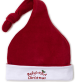 kissy kissy Kissy Kissy Baby's First Christmas Velour Stocking Hat