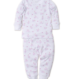 kissy kissy Kissy Kissy Sparkling Swans Print Pajama Set