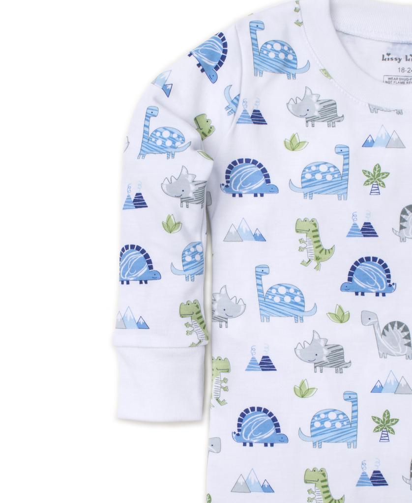 kissy kissy Kissy Kissy Dino Crew Print Pajama Set