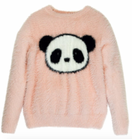 tooby doo Tooby Doo Faux Mohair Panda Sweater