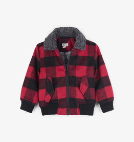 Hatley Hatley Buffalo Plaid Bomber Jacket