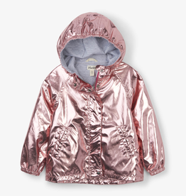 Hatley Hatley Bubble Gum Shimmer Terry Lined Jacket