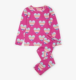 Hatley Hatley Multicolor Hearts Ski Underwear