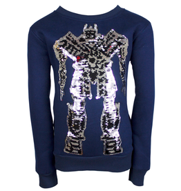 Lola & the Boys Lola & the Boys Transformer Flip Sweatshirt
