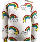 Lola & the Boys Lola & the Boys Smiley Cloud Sweater