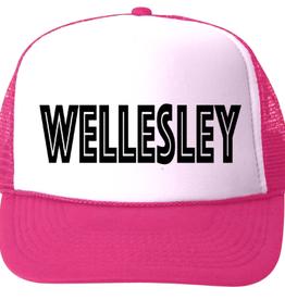 bubu Wellesley Baseball Hat-Black Ink