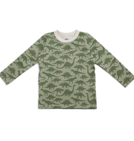 Winter Water Factory Winter Water Factory Dinosaurs Long Sleeve Tee