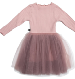 Petite Hailey Petite Hailey Long Sleeve Star Tutu Dress