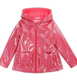 Billieblush Billieblush Lined Metallic Raincoat
