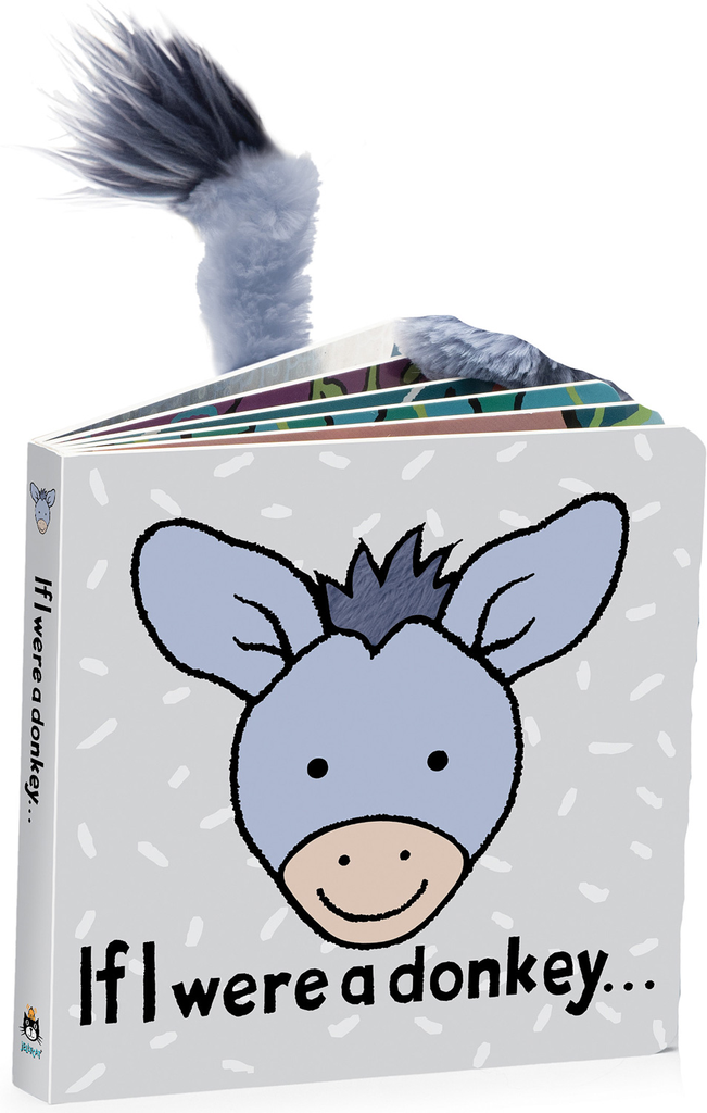JellyCat Jelly Cat if I were a Donkey Book
