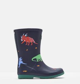 Joules Joules Junior Roll Up Dino Welly Boots