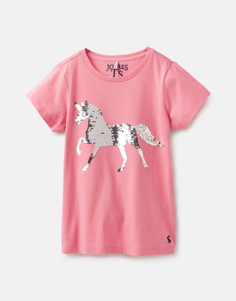 Joules Joules Astra Sequin Horse Top