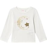 Billieblush Billieblush Long Sleeve Tee with Moon Graphic