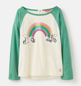 Joules Joules Glitsy Rainbow Top
