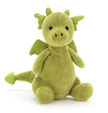 JellyCat Jelly Cat Little Puff Jade
