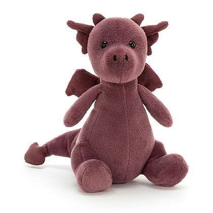 JellyCat Jelly Cat Little Puff Violet