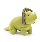 JellyCat Jelly Cat Mellow Mallow Triceratops Large
