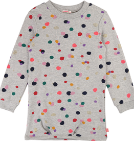Billieblush Billieblush Long Sleeve Dress with Multi Color Dots