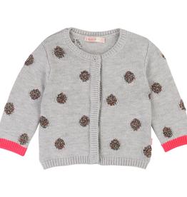 Billieblush Billieblush Knitted Cardigan with Dot Details