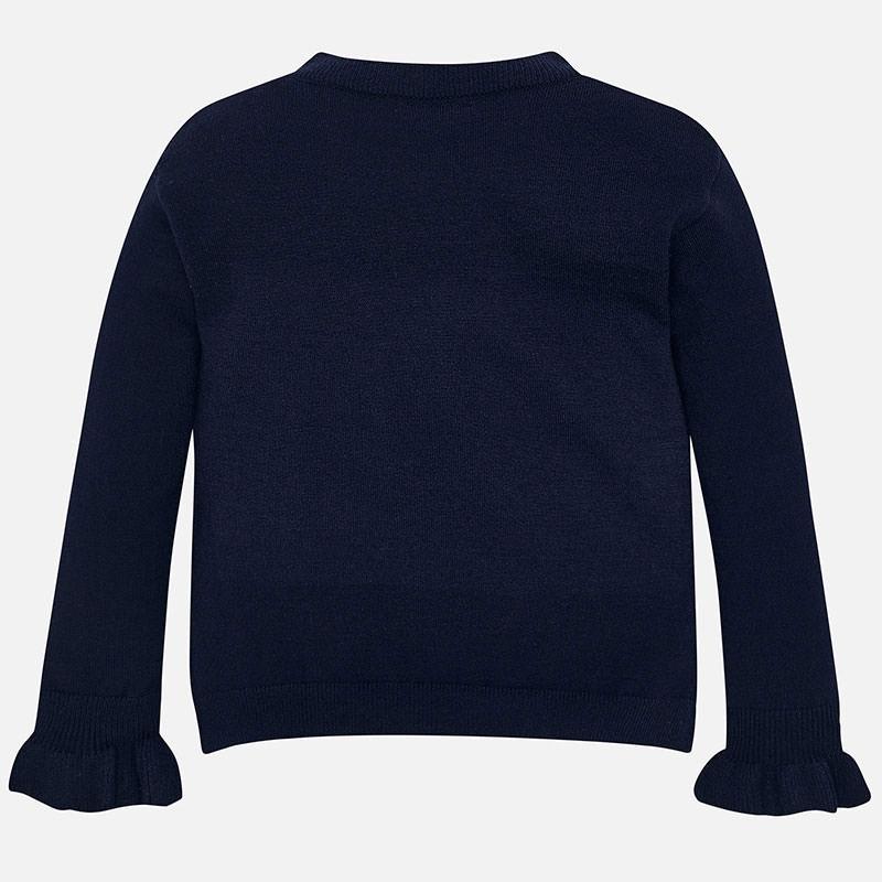 Mayoral Mayoral Ruffle Sweater