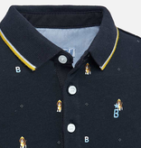 Mayoral Mayoral Long Sleeve Printed Polo