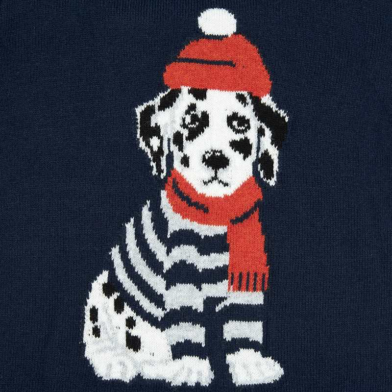 Mayoral Mayoral Knit Dalmation Sweater