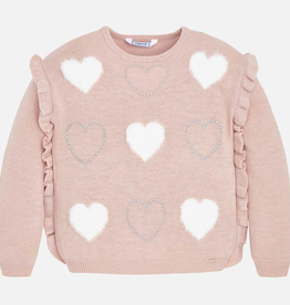 Mayoral Mayoral Hearts Sweater