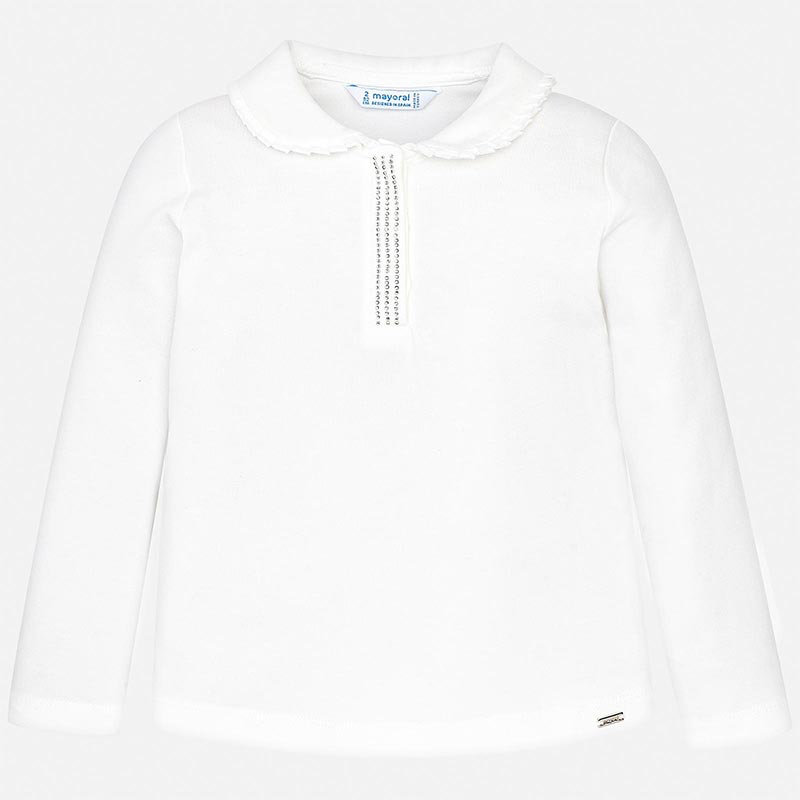 Mayoral Mayoral Long Sleeve Basic Polo