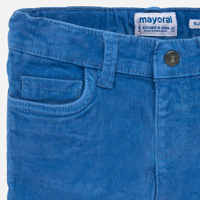 Mayoral Mayoral Basic Slim Fit Cord Trouser