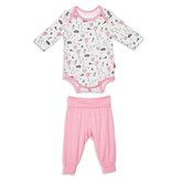 Magnificent Baby Magnificent Baby Skylark Modal Bodysuit and Pants Set *more colors*