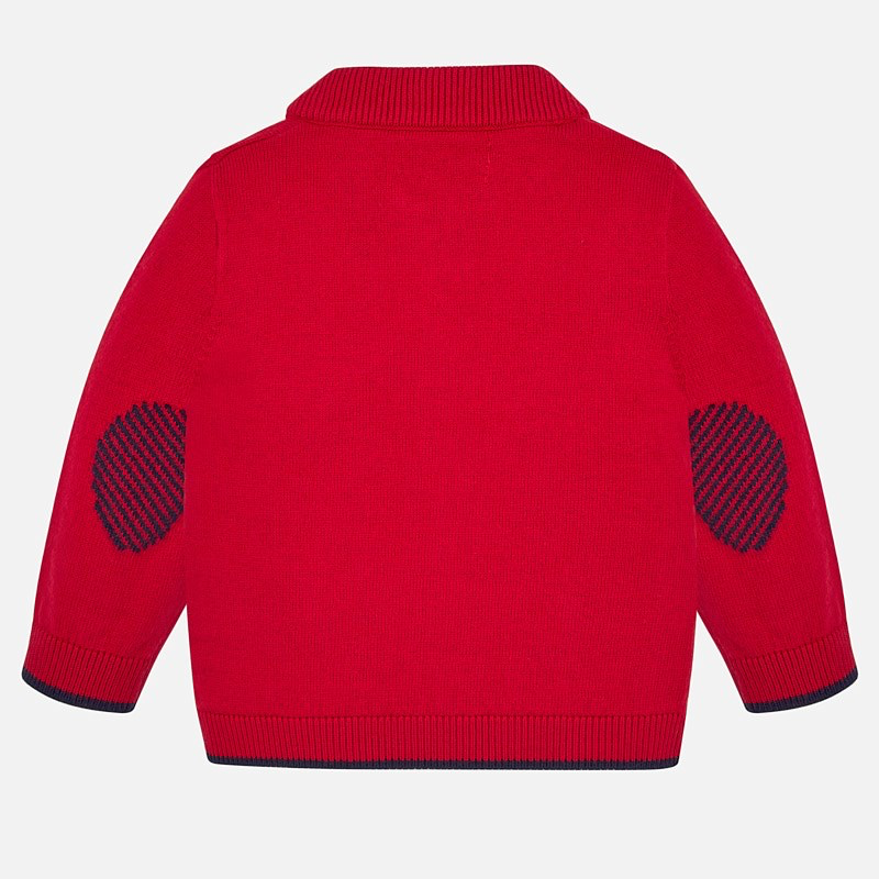 Mayoral Mayoral Basic Knit Zippered Sweater
