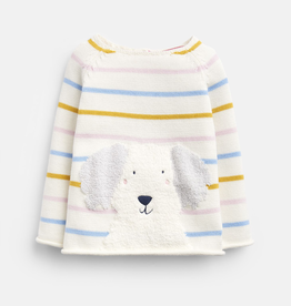 Joules Joules Winnie Dog Intarsia Sweater