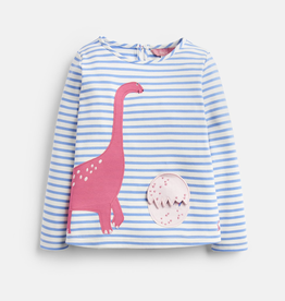 Joules Joules Dino Egg Applique Top
