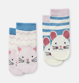 Joules Joules Cat and Mouse Character Socks