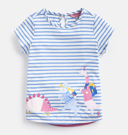 Joules Joules Pixie Exploring Dino Jersey T-Shirt