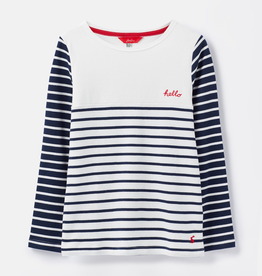 Joules Joules Harbour Luxe Striped Top