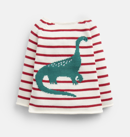 Joules Joules Barney Dino Knitted Sweater