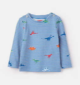 Joules Joules Harbour Dino Print Top