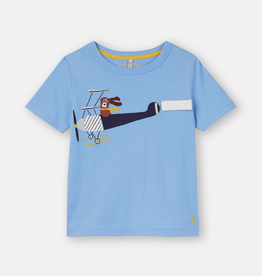 Joules Joules Chomp Plane Applique T-Shirt