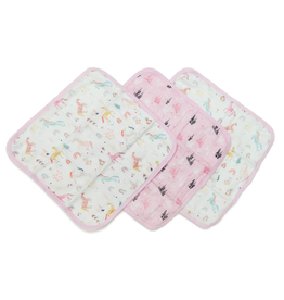 Loulou Lollipop Loulou Lollipop Unicorn Washcloth Set