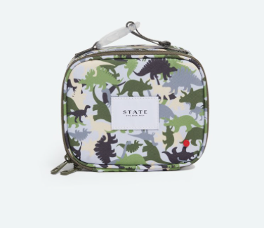 State State Ryder Snack Box- Dino Flage