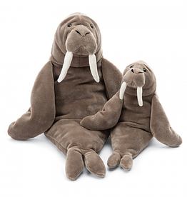 JellyCat Jelly Cat Wrinkles Walrus Little