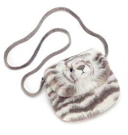 JellyCat Jelly Cat Sacha Snow Tiger Purse