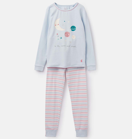 Joules Joules Sleepwell Moon and Back Pajama Set