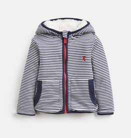 Joules Joules James Striped Reversible Hooded Jacket