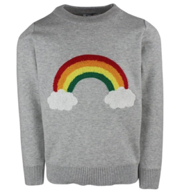 Lola & the Boys Lola & the Boys Rainbow Cloud Sweater