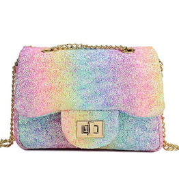 Henny & Coco Henny & Coco Isla Rainbow Glitter Bag
