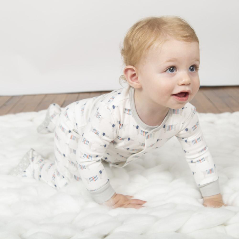 Magnificent Baby Magnificent Baby Sweater Weather Organic Cotton Footie