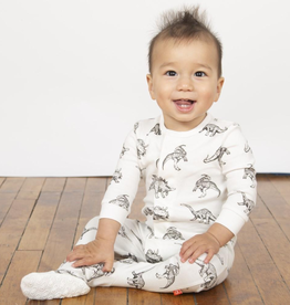 Magnificent Baby Magnificent Baby Babe-a-Saurus Organic Cotton Footie