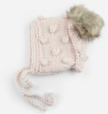 The Blueberry Hill The Blueberry Hill Coco Bonnet with Faux Fur Pom